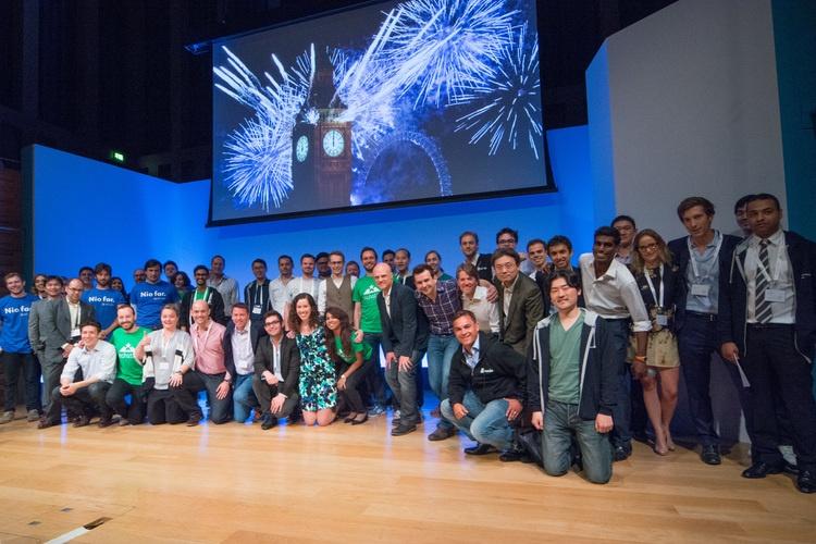 Barclays Techstars Demo Day cohort