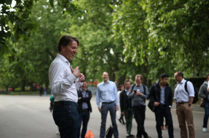 Speaker's Corner Pitch with Barclays and Techstars